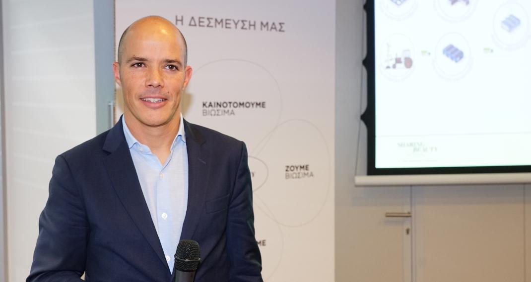 Ο κ. Mehdi Khoubbane, Γενικός Διευθυντής της L'Oréal Hellas