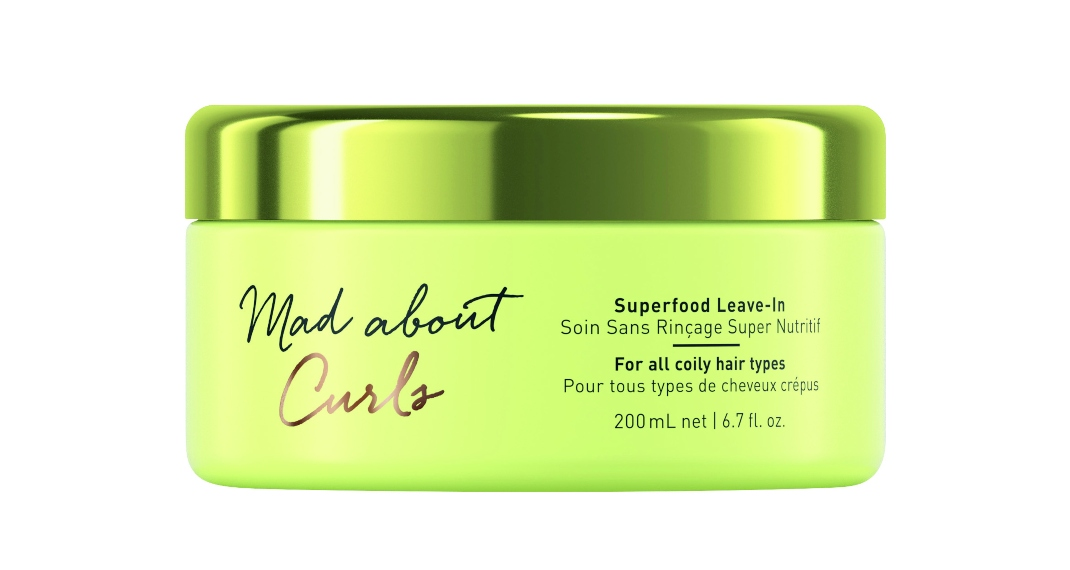 Mad About Curls Superfood Leave-In μάσκα θεραπείας