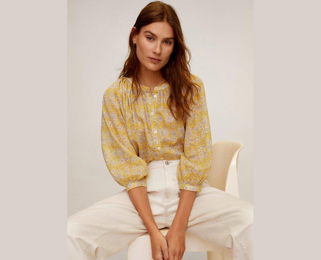 κίτρινο πουκάμισο