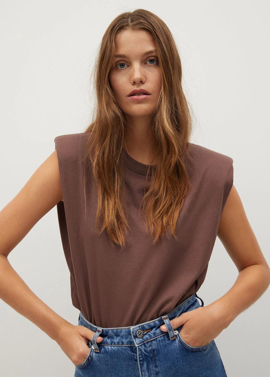 shoulder pad top