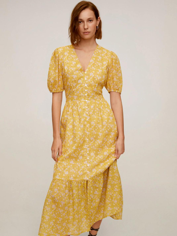 κίτρινο φορεμα