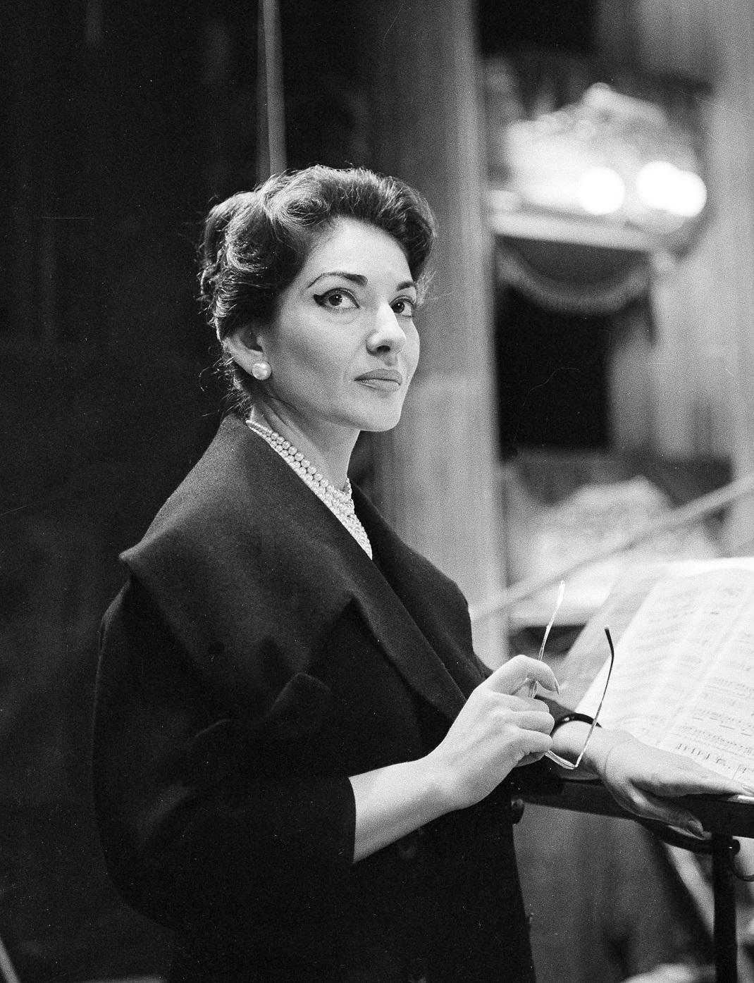 Η Μαρία Κάλλας στη Σκάλα του Μιλάνου