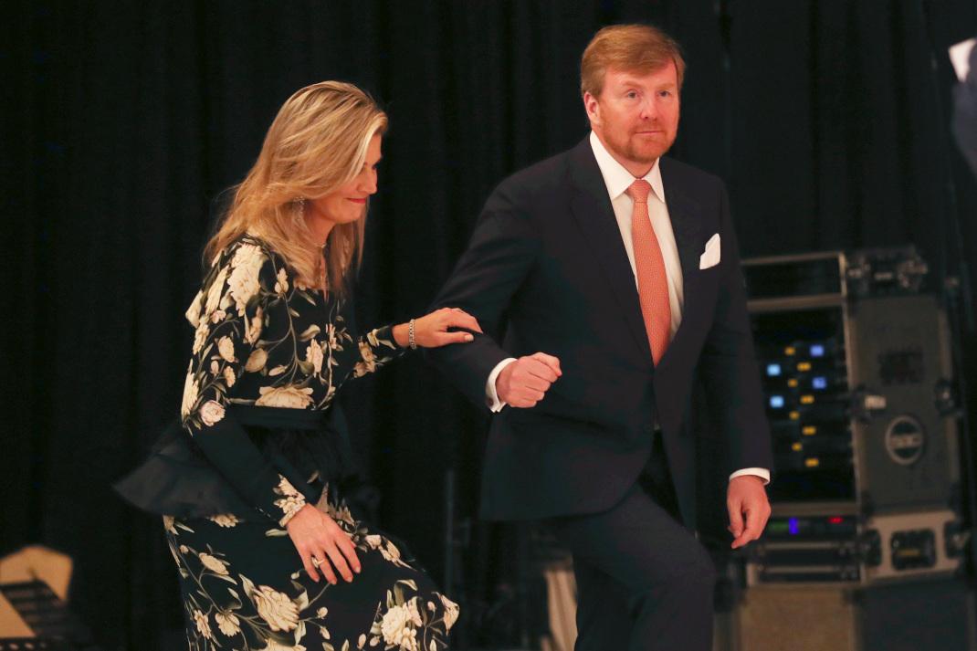 Η βασίλισσα Μάξιμα και ο βασιλιάς Βίλεμ Αλεξάντερ