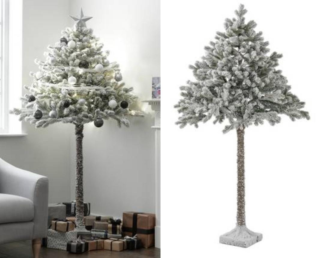 Το χιονισμένο χριστουγεννιάτικο δέντρο