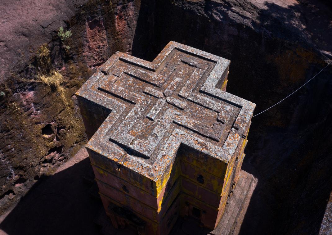 Ο μονολιθικός ορθόδοξος ναός στην Αιθιοπία