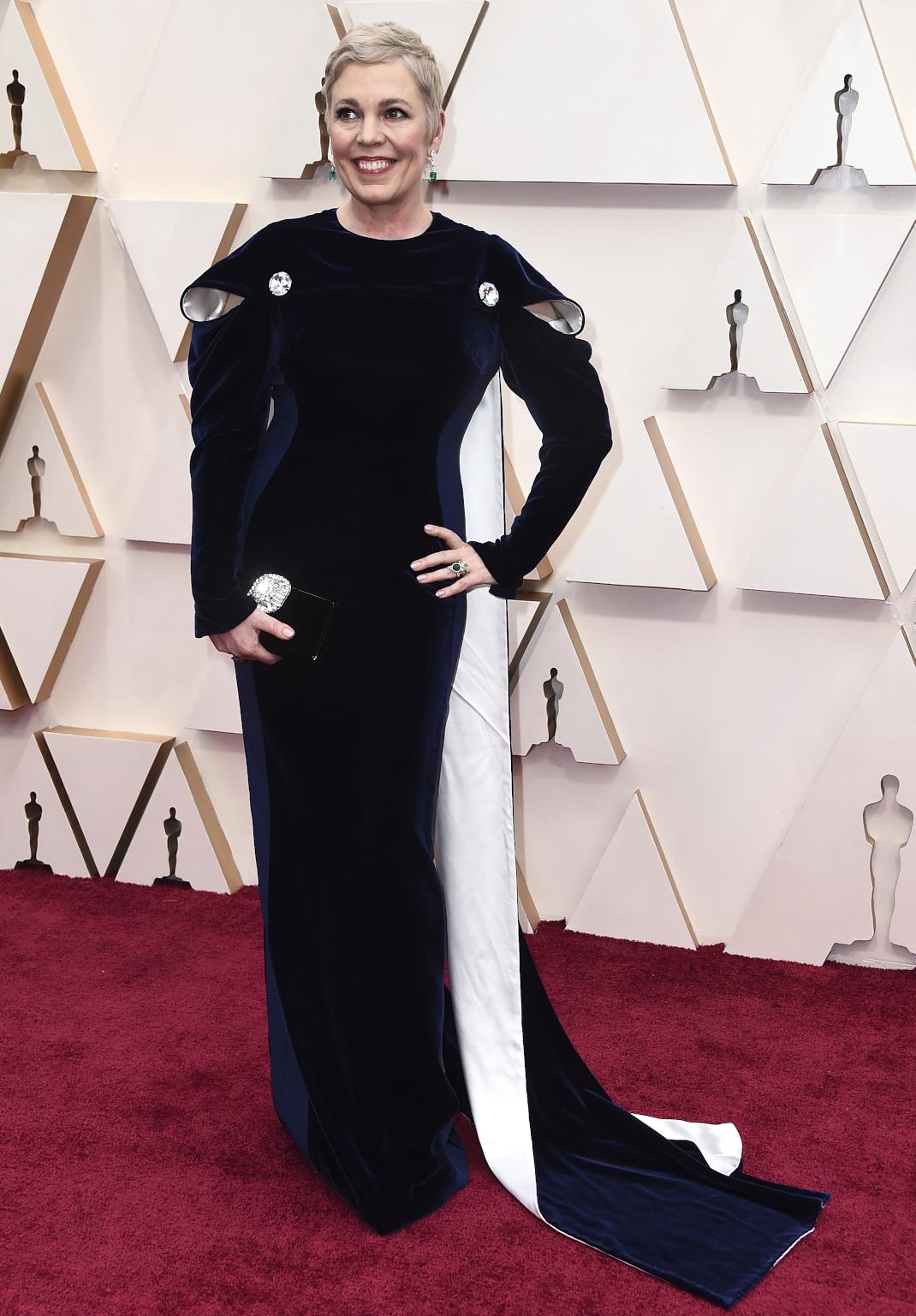 Η Olivia Colman με Stella McCartney στα Όσκαρ 2020