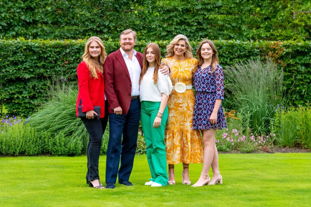 Η βασιλική οικογένεια της Ολλανδίας