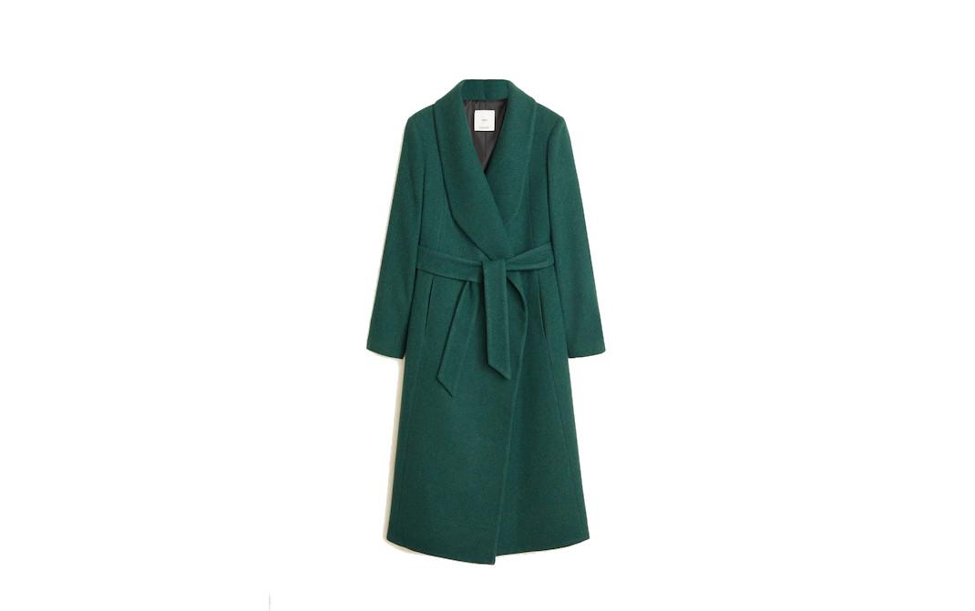 Το πράσινο παλτό της Πίπα Μίντλετον από τα Mango