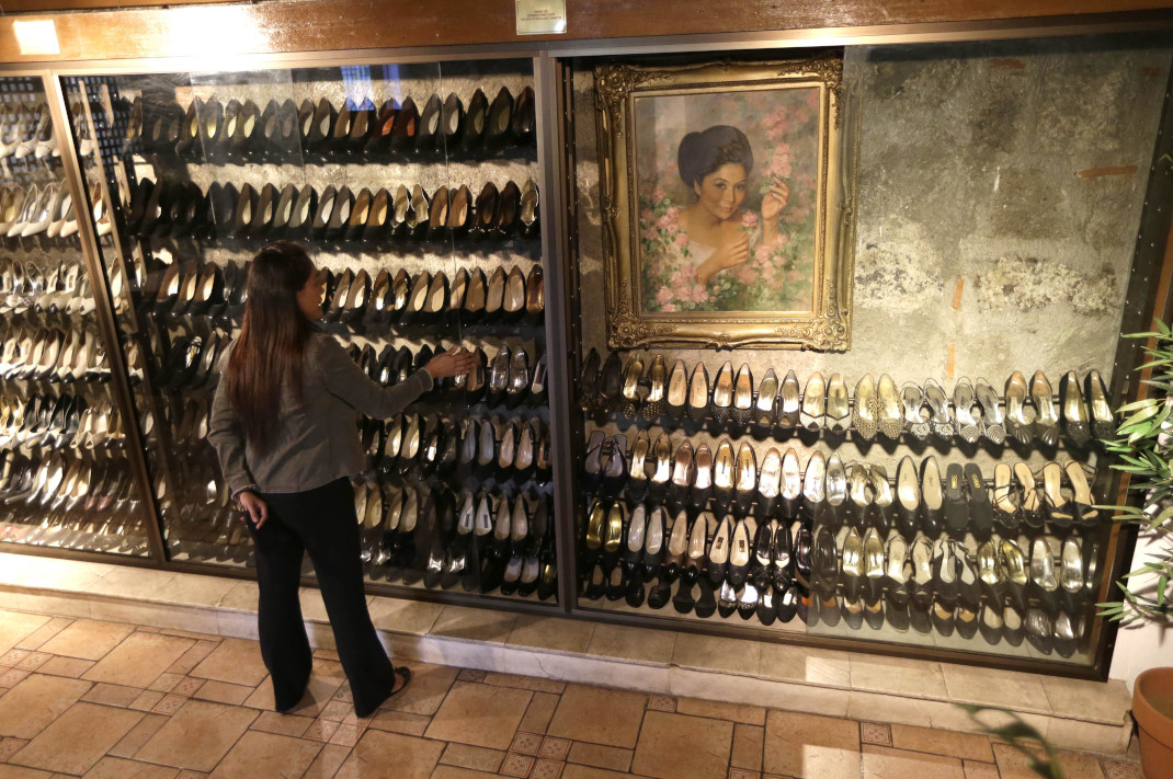 Το μουσείο με τα θρυλικά παπούτσια της Ιμέλντα Μάρκος