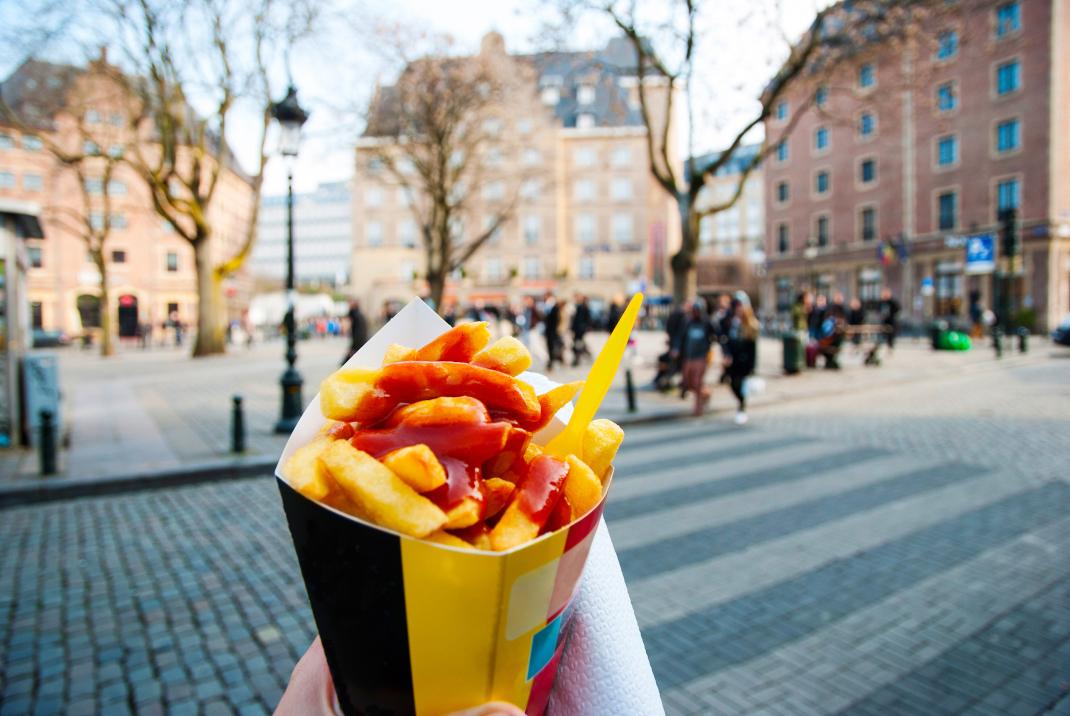 Τηγανιτές πατάτες στις Βρυξέλλες