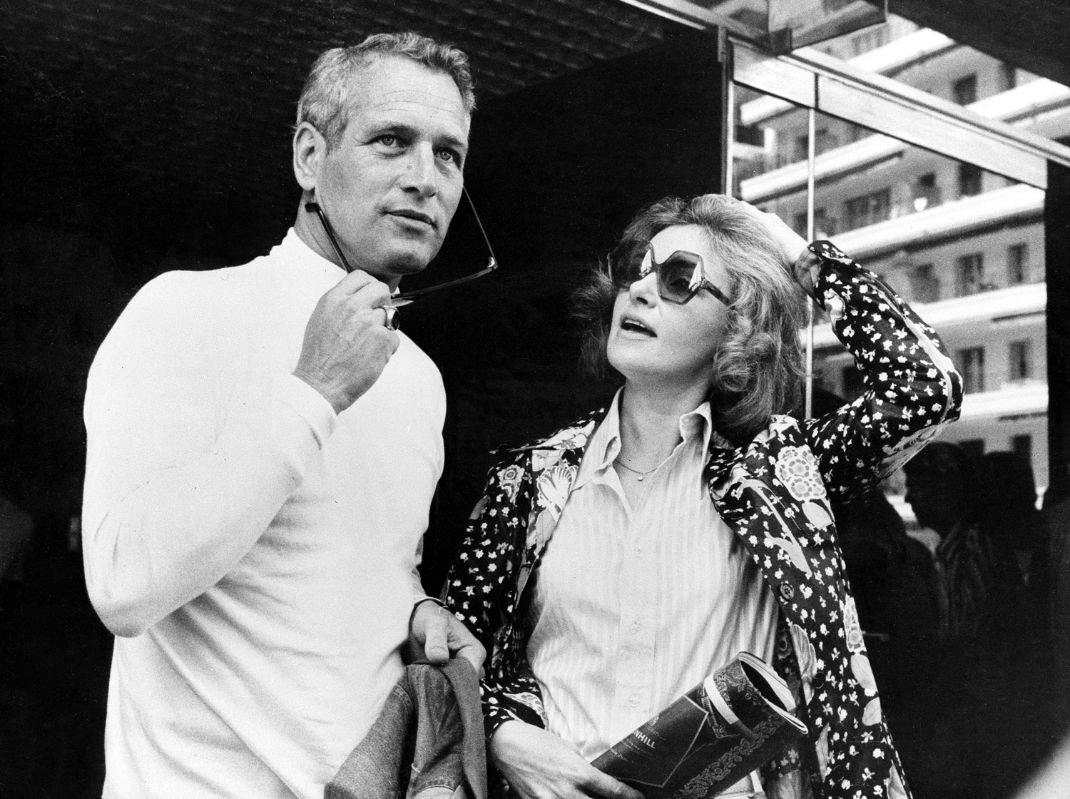 Ο Πολ Νιούμαν με τη σύζυγό του, Τζοάν Γούντγουορντ