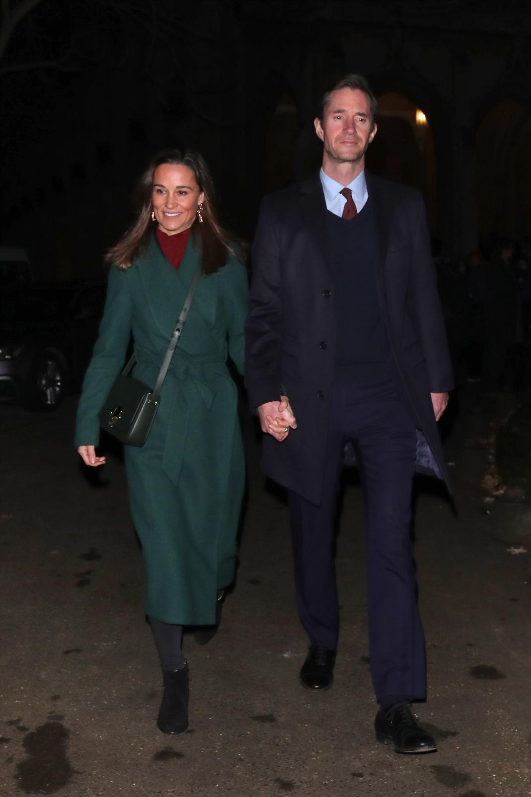 Η Πίπα Μίντλετον και ο σύζυγός της