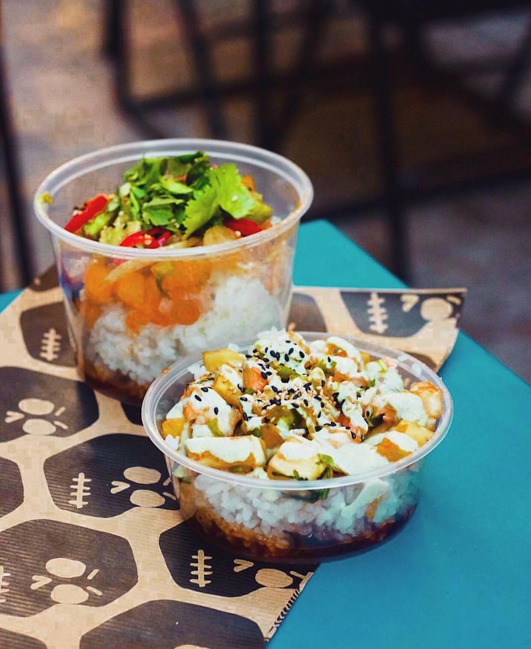 Γεύσεις στο  Poké Hawaiian Sushi/ Ιnstagram