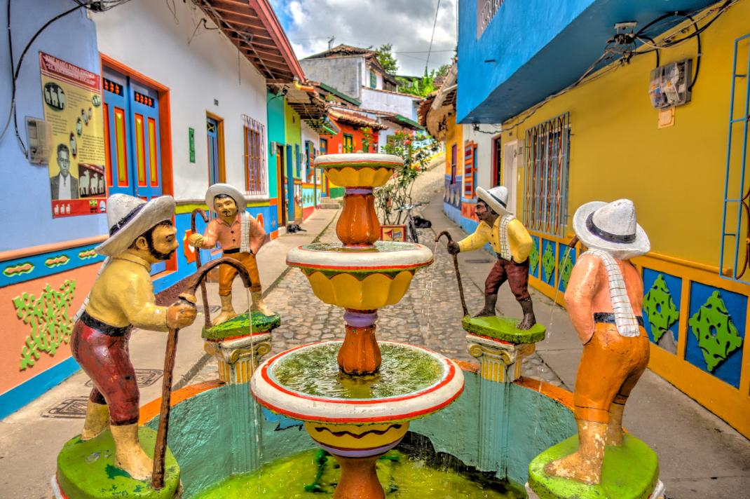 Guatapé της Κολομβίας