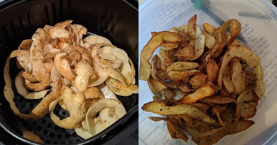 πατάτες τσιπς