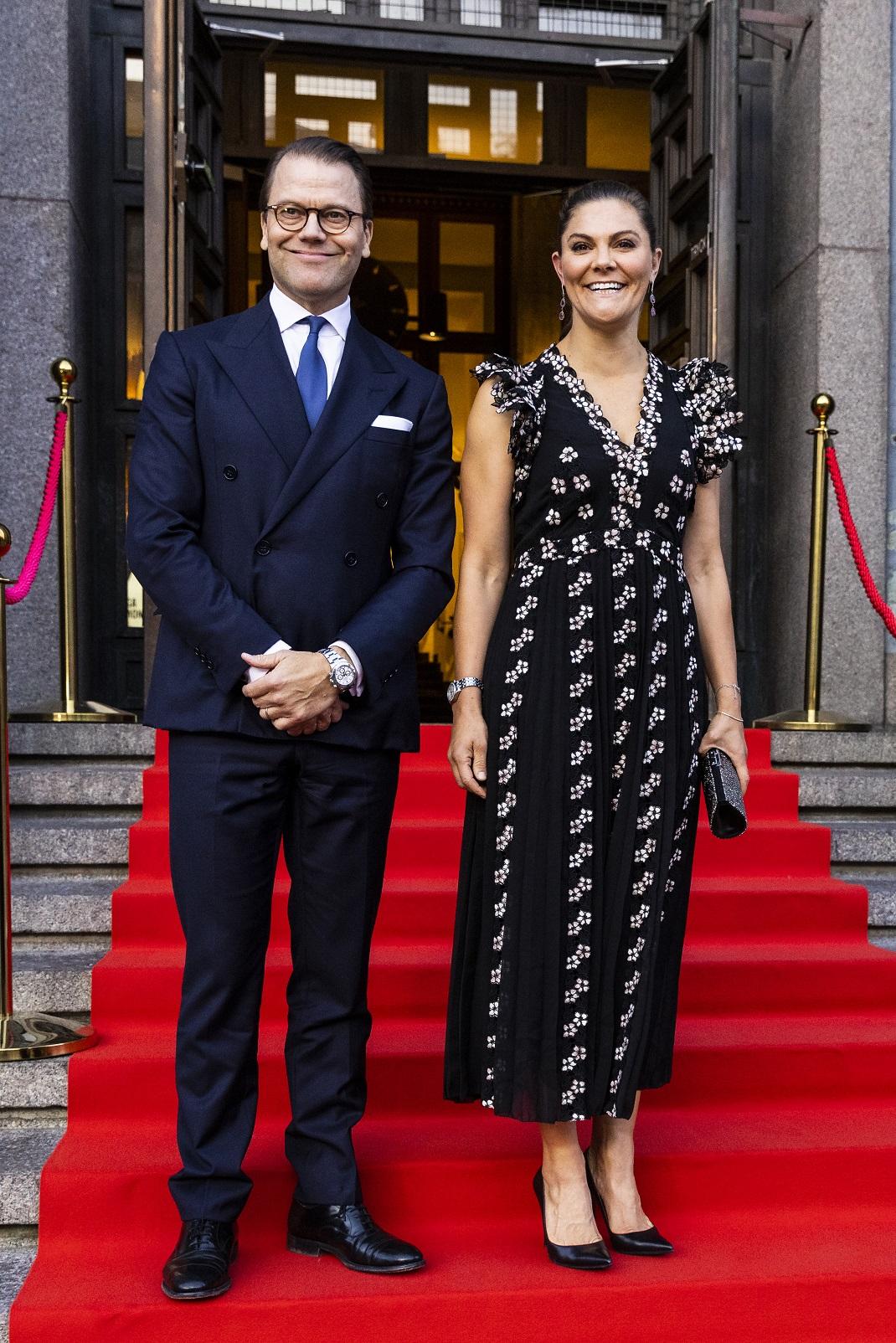 Η πριγκίπισσα Βικτόρια της Σουηδίας και ο πρίγκιπας Ντάνιελ
