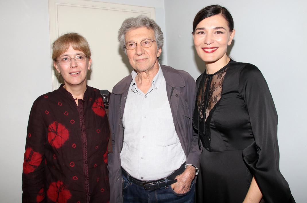 Μαρίνα Ψάλτη-Γιάννης Φέρτης-Μαρία Ναυπλιώτου στην επίσημη πρεμιέρα του Master Class
