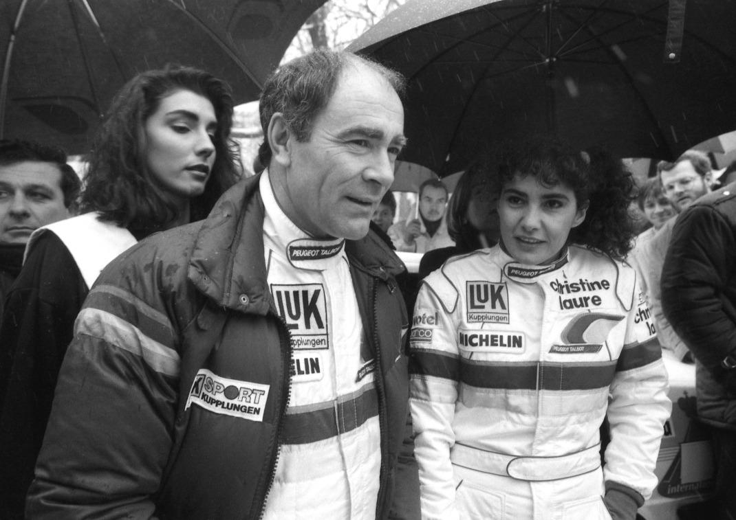 Το 1986 με τον Terry Harryman