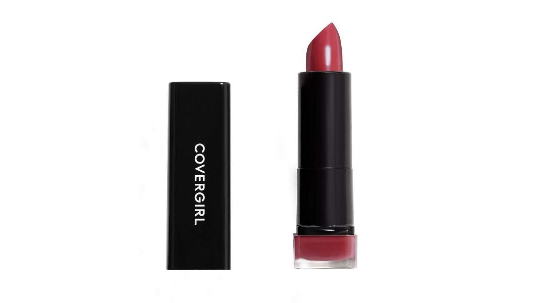 CoverGirl Exhibitionist Cream Lipstick in Seduce Scarlet