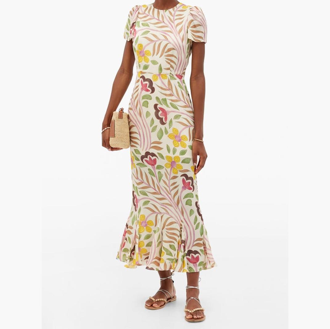 φλοράλ φόρεμα