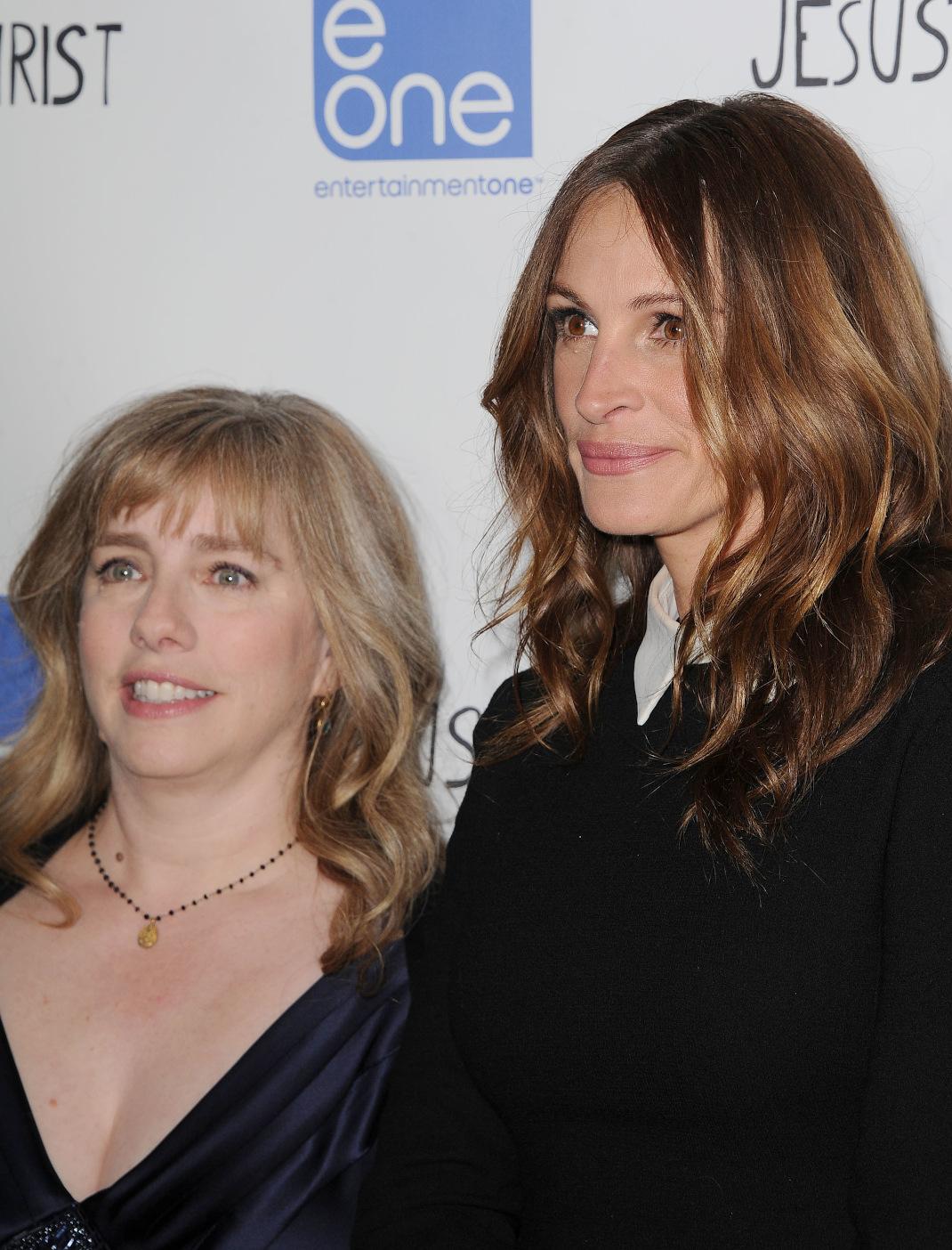 Η Τζούλια Ρόμπερτς με την μεγαλύτερη αδελφή της