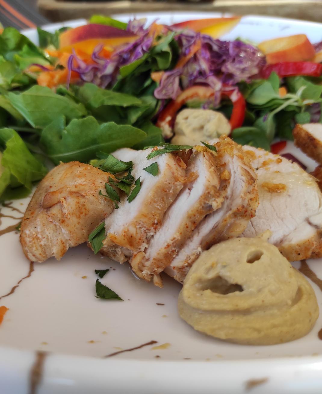 σαλάτα με κοτόπουλο