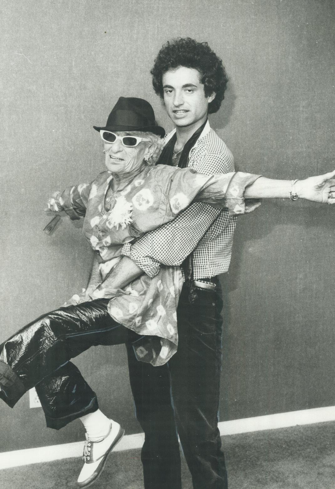 Η Σάλι Λίπμαν και ο John Touzos