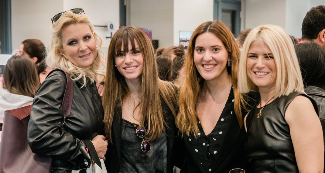 Κατερίνα Γκαγκάκη, Ελένη Τσολάκη, Τζοβάννα Βλαχάβα, Ζωή Πυθαρούλη (Marketing Director Sephora Greece)