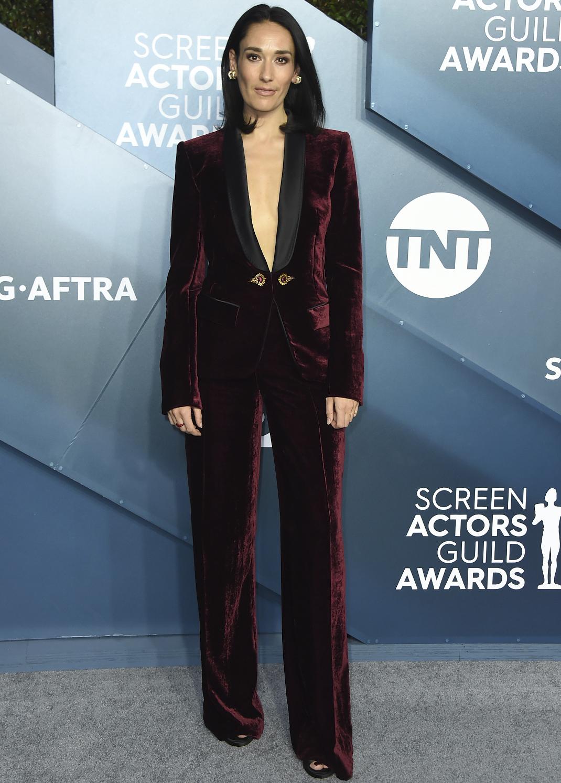 Η Sian Clifford στο κόκκινο χαλί των SAG Awards