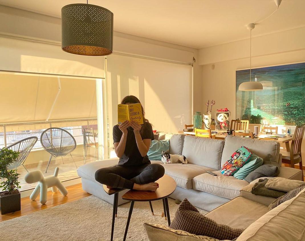To υπέροχο μίνιμαλ σπίτι του Κωστή Μαραβέγια και της Τόνιας Σωτηροπούλου