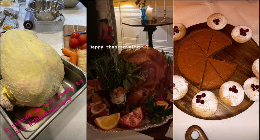 Το γιορτινό τραπέζι των royals