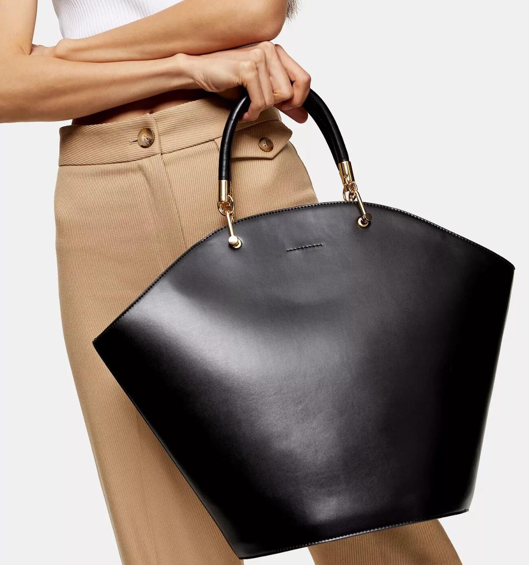 μαύρη τσάντα Topshop