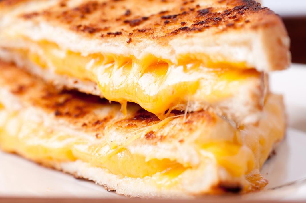 Τοστ με τυρί