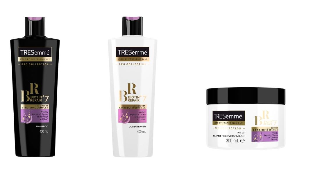 Σειρά Biotin+ Repair 7 με Βιοτίνη και Σύμπλεγμα Μορίων για ταλαιπωρημένα μαλλιά