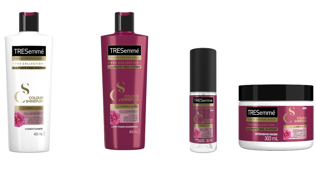 Σειρά ColourShineplex χωρίς θειικά άλατα και με έλαιο καμέλιας για βαμμένα μαλλιά