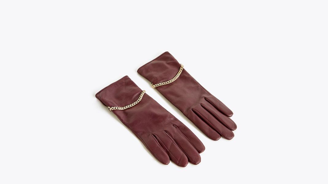 Δερμάτινα γάντια Uterque