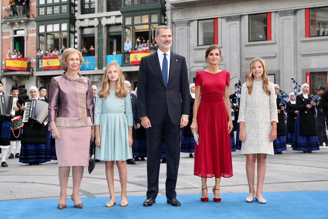 Η βασιλική οικογένεια της Ισπανίας