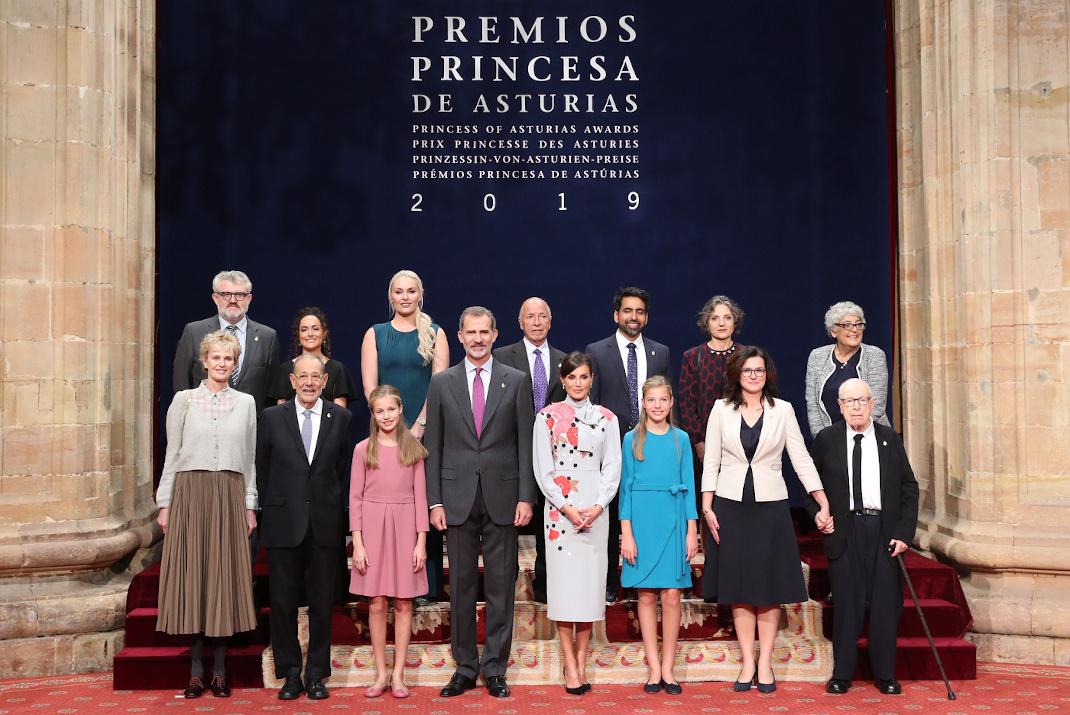 Η βασιλική οικογένεια της Ισπανίας σε βραβεία