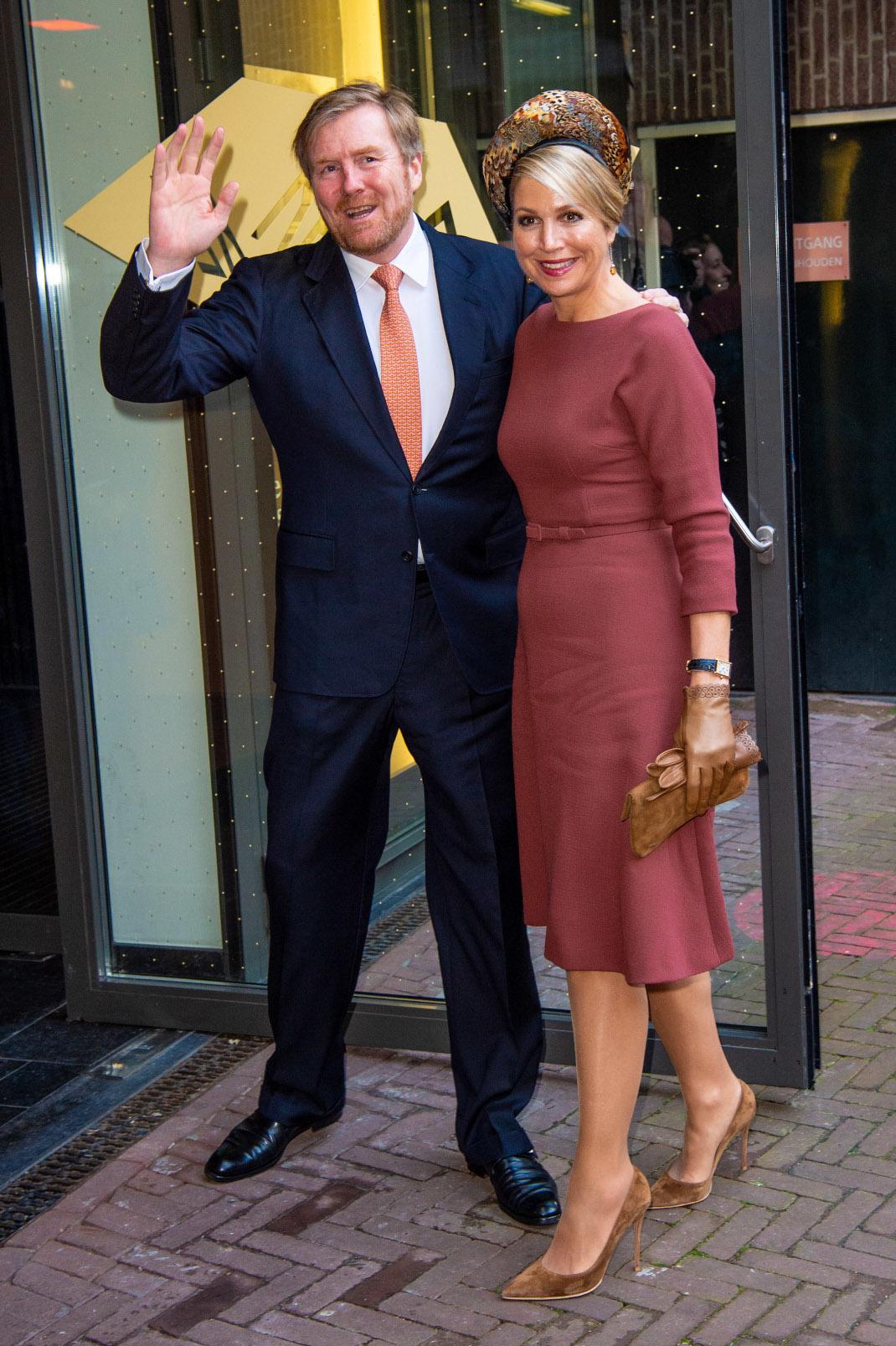 Βασιλιάς Βίλεμ Αλεξάντερ και βασίλισσα Μάξιμα