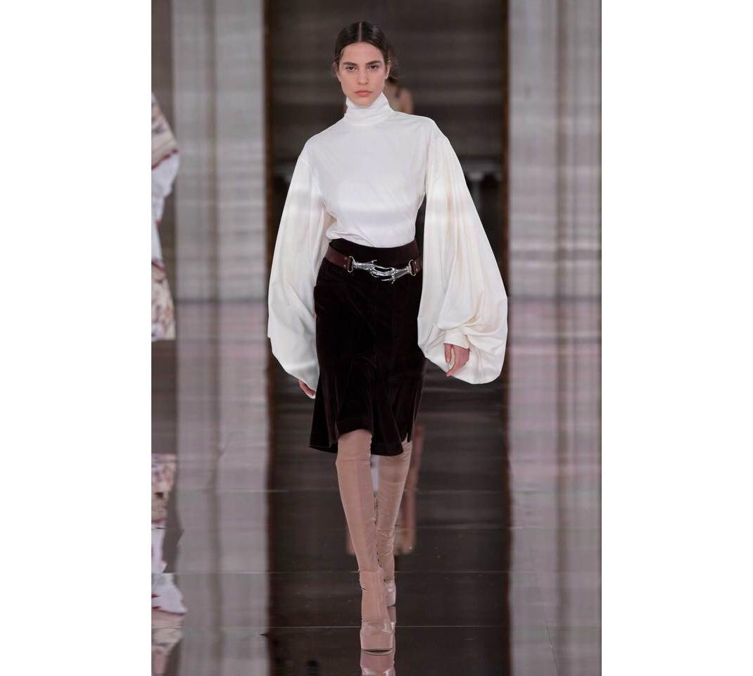 μοντέλο στο σόου της Victoria Beckham