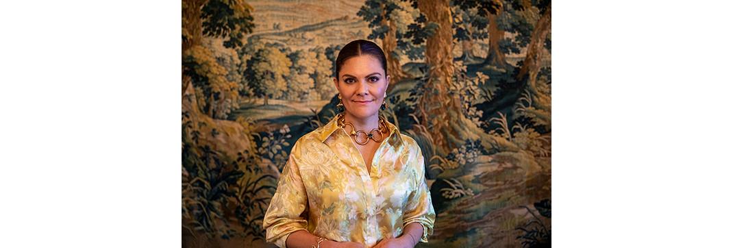 Η πριγκίπισσα Βικτόρια της Σουηδίας