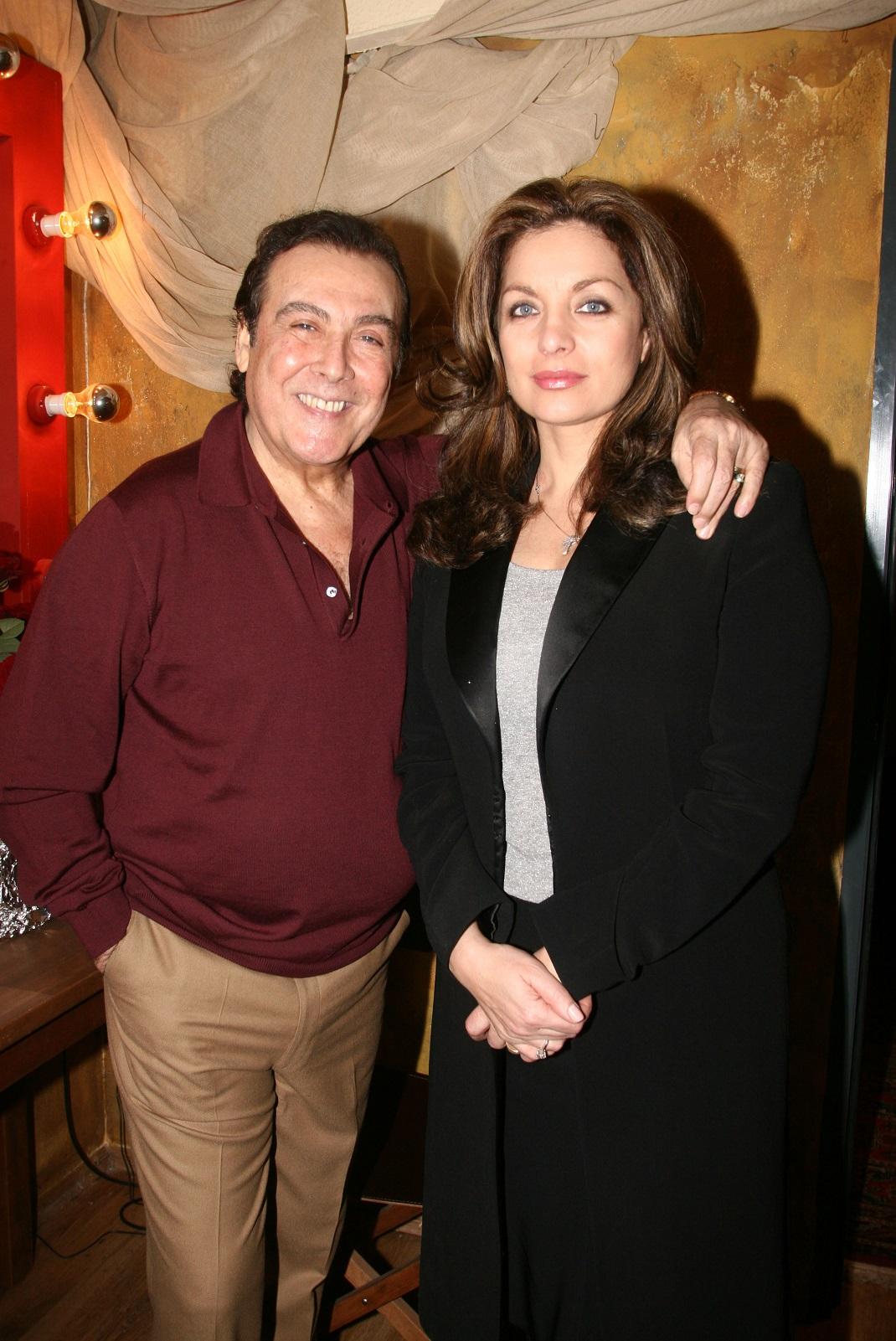 Ο Τόλης Βοσκόπουλος με την Άντζελα Γκερέκου
