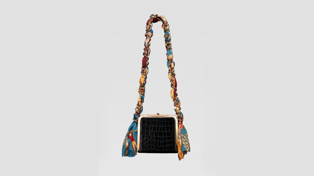 κροκό τσάντα Zara