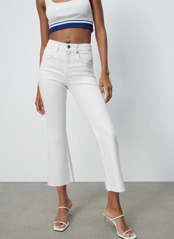 λευκό τζιν Zara
