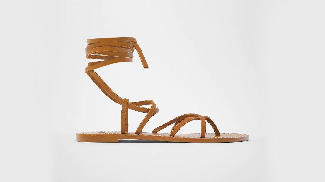 Zara σανδάλια