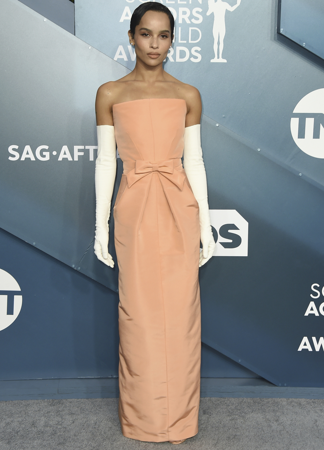 H Zoe Kravitz στο κόκκινο χαλί των SAG Awards