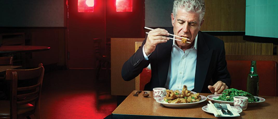 Facebook /@AnthonyBourdain