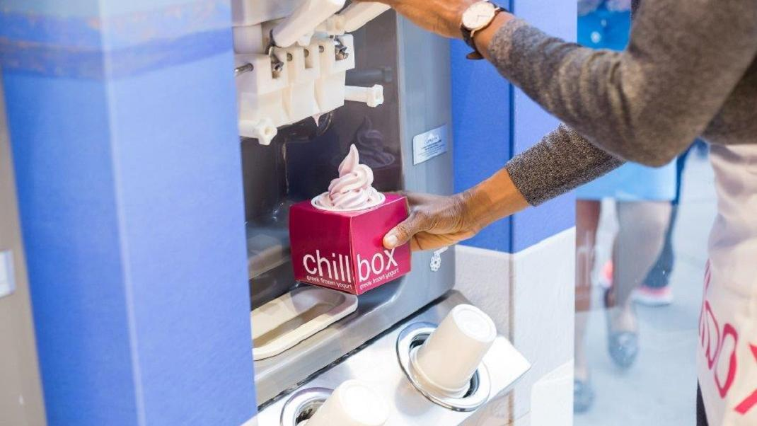 frozen yogurt Chillbox