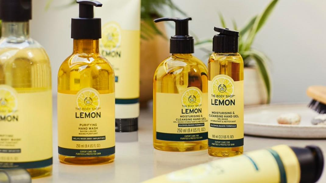 Lemon, The Body Shop
