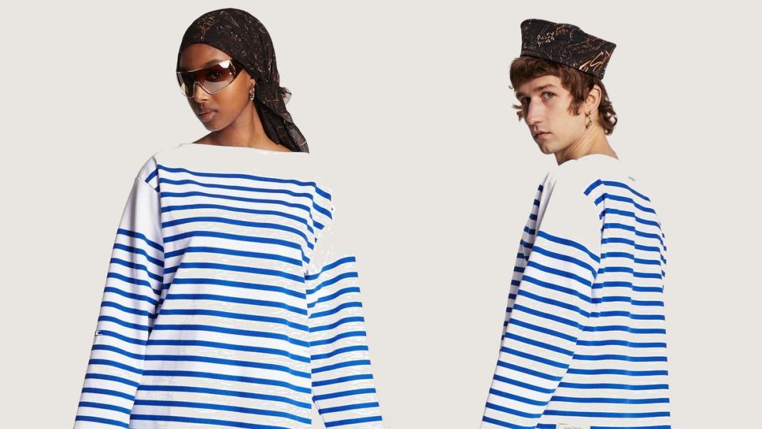 Stripes navy Jean Paul Gaultier
